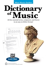Picture of Mini Music Dictionary: Dictionary of Music