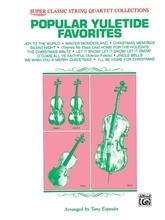 Picture of Popular Yuletide Favorites for String Quartet
