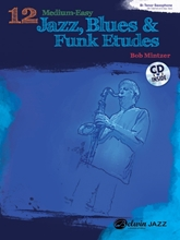 Picture of 12 Medium Easy Jazz Blues & Funk Etudes B Flat Bk/Cd