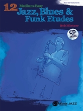 Picture of 12 Medium Easy Jazz Blues & Funk Etudes Bass Clef Bk/Cd