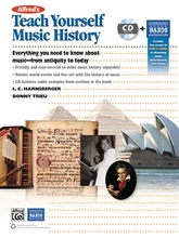 Picture of Alfred's Teach Yourself Music History Book/CD/OA