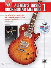 Picture of Alfreds Basic Rock Guitar Method 1 Bk/DVD/OA
