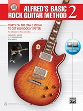 Picture of Alfreds Basic Rock Guitar Method 2 Bk/OA