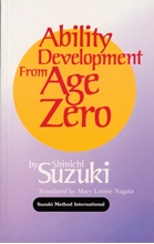 Picture of Ability Development from Age Zero