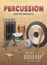 Picture of Music Playing Cards Percussion Instruments