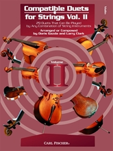 Picture of Compatible Duets For Strings Vol II Violin