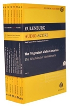 Picture of 10 Greatest Violin Concertos Study Score Set