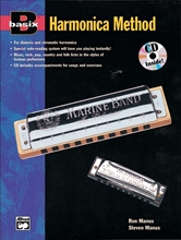 Picture of Basix Harmonica Method Book/ECD