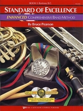 Picture of Standard of Excellence Enhanced Bk 1 Baritone BC