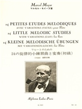 Picture of 24 Little Melodic Studies for Flute