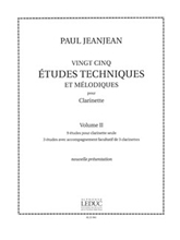 Picture of 25 Technical and Melodic Etudes Volume 2 Clarinet