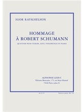 Picture of Hommage a Robert Schumann Piano Quartet Sc/Pts