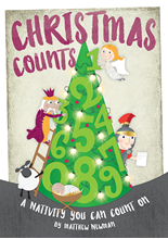 Picture of Christmas Counts Book/CD
