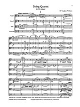 Picture of Vaughan Williams: String Quartet in G min Score