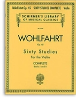 Picture of 60 Studies for the Violin Op 45 Complete Books 1-2