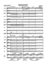 Picture of Meditation From Thais Orchestra Score/Parts
