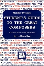 Picture of STUDENT'S GUIDE TO THE GREAT COMPOSERS