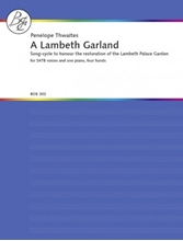 Picture of A Lambeth Garland- for SATB Choir and Piano 4 Hands