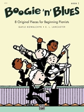 Picture of Boogie N Blues Book 1 Piano
