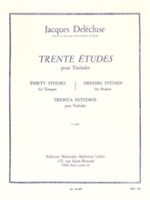 Picture of 30 Studies for Timpani Volume 1