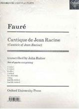 Picture of Cantique de Jean Racine Set of Parts