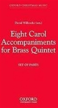 Picture of Eight Carol Accompaniments for Brass- Five Parts