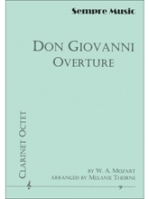 Picture of Don Giovanni Overture for 8 Clarinets