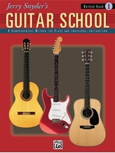 Picture of Jerry Snyder's Guitar School Student Book 1, Book