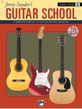 Picture of Jerry Snyder's Guitar School Teacher's Guide Book 1