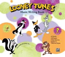 Picture of Looney Tunes Music Writing Book Giant 6 Stave