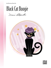 Picture of Black Cat Boogie Late Elementary Piano