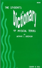 Picture of The Student's Dictionary of Musical Terms