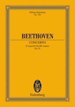 Picture of Beethoven Violin Concerto in D Study Score