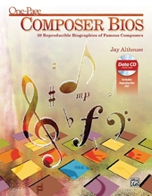 Picture of One-Page Composer Bios Bk/CD
