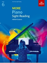 Picture of ABRSM More Piano Sight Reading Grade 6