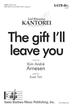 Picture of The Gift You'll Leave Behind SATB