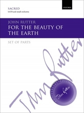 Picture of For the Beauty of the Earth Orchestral Parts
