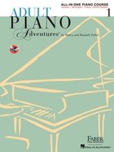 Picture of Adult Piano Adventures All-in-One Book 1