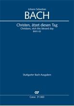 Picture of Christen atzet diesen Tag BWV 63 Vocal Score