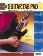 Picture of Guitar TAB Pad 64 pages