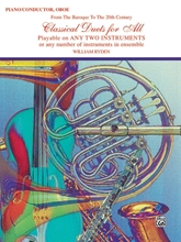 Picture of Classical Duets for All Piano/Oboe Book