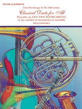 Picture of Classical Duets for All Tenor Sax