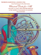 Picture of Classical Duets for All Trombone/Baritone BC/Tuba