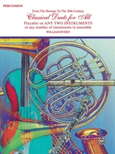 Picture of Classical Duets for All Percussion