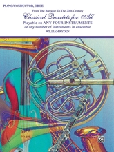 Picture of Classical Quartets for All Piano/Oboe