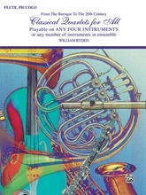 Picture of Classical Quartets for All Flute/Piccolo