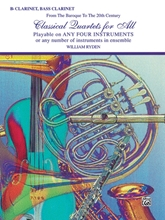Picture of Classical Quartets for All Clarinet/Bass Clarinet