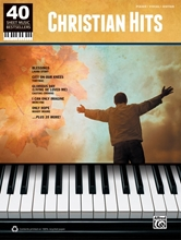 Picture of 40 Sheet Music Bestsellers: Christian Hits PVG