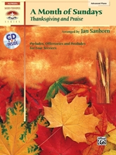 Picture of A Month of Sundays Thanksgiving and Praise Book/CD
