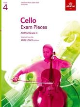 Picture of ABRSM Cello 2020-23 Grade 4 Cello/Piano